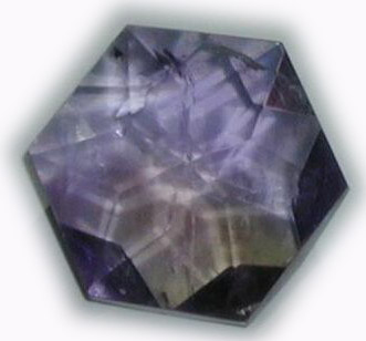Amethyst Flower of Life  Crystal