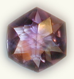 Amethyst Flower of Life Crystal 1