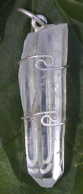 Lemurian Crystal Pendant from www.Celestialights.com