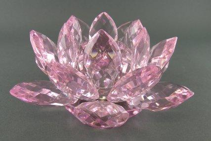 lotus crystal, Beautiful flower