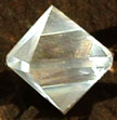 Platonic Solid Octahedron Crystal from Celestial Lights (800)498-7182